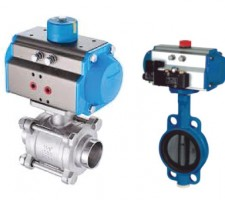 actuator with valves